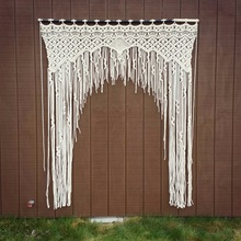 Wedding Backdrop Macrame Door Curtain Manufacturer in Noida
