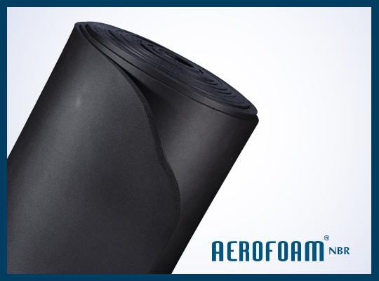 AEROFOAM RUBBER INSULATION SHEET & ROLL