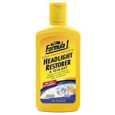 FORMULA 1 CARNAUBA HEAD LIGHT RESTORER & SEALANT