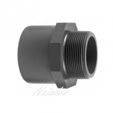 PVC HP MALE SOCKET ADAPTOR CEPEX