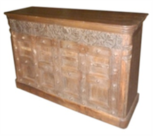 High Quality Wooden Carved Bar Counter