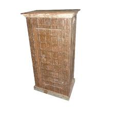 Unique Wooden Single Door Pitara Almirah