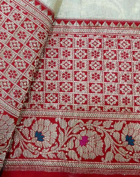 Pallu Handwoven Pure Silk Saree