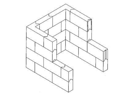 Interlocking Lead Brick Caves