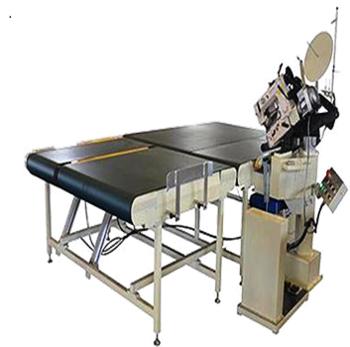 Automatic Tape Edge Machine with Conveyor