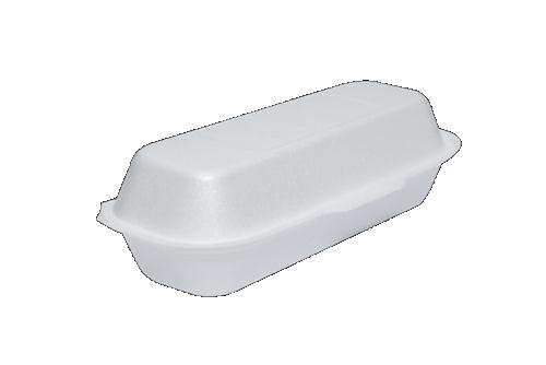 Foam Hot Dog Box Medium