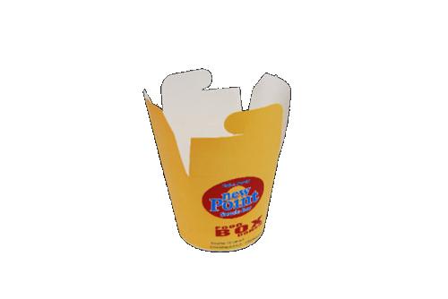 Paper popcorn cover