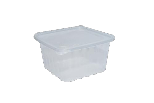 Square Microwavable Container With lid