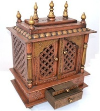 Small Hindu Temple With Doors Design For Home By Morya Enterprises Doors Design Home Small Hindu Wooden Temple Id 4835389