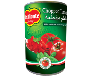 Chopped Tomato With Basil