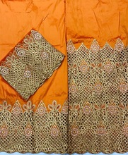 silk George fabric