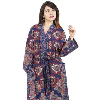 cotton long kimono