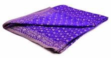 Handloom Satin Art Silk Sari