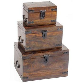 Antique Wooden Chest Box