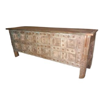 Antique Wooden Console Box