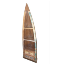 Drawer Boat Style Book Rack