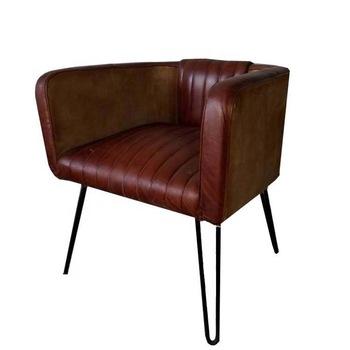 Leather Iron Sofa