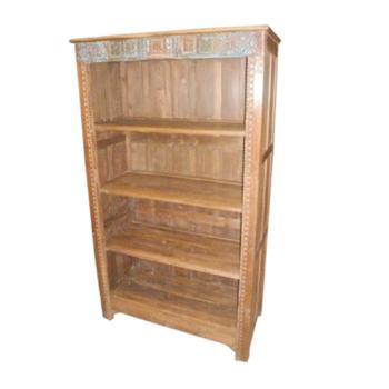 Wooden Careved Book Shelf