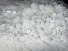 Crushed Raw crystal Salt