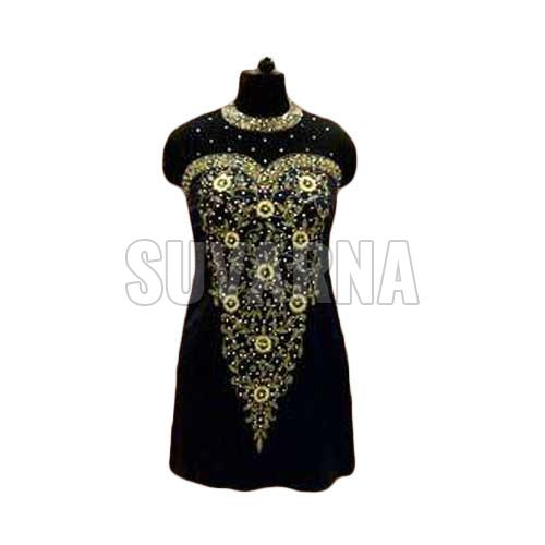 Hand Embroidered Party Wear Kurti
