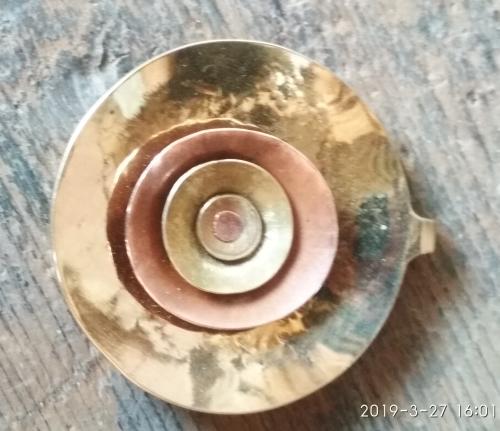 brass pendant