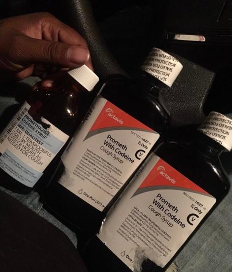 Actavis purple cough syrup 16oz and 32oz (YBNL028)