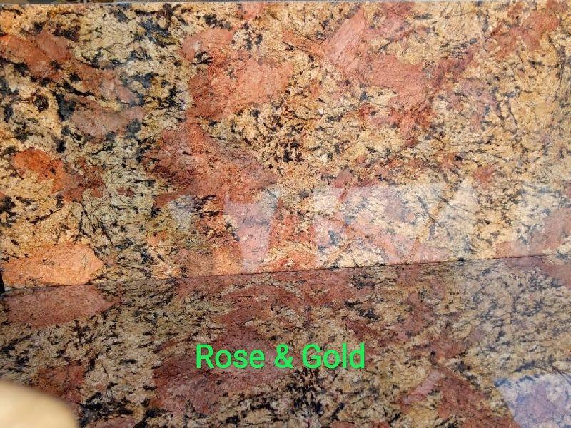 Rose Gold Granite Slabs