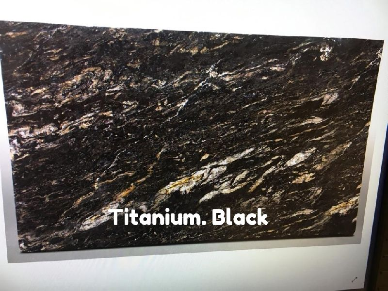 Titainium Black Granite Slabs