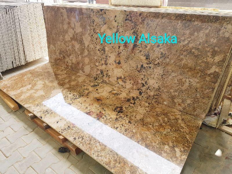Yellow Alaska Granite Slabs