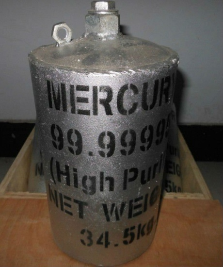 Liquid Mercury and Metallic (YBNL6545)