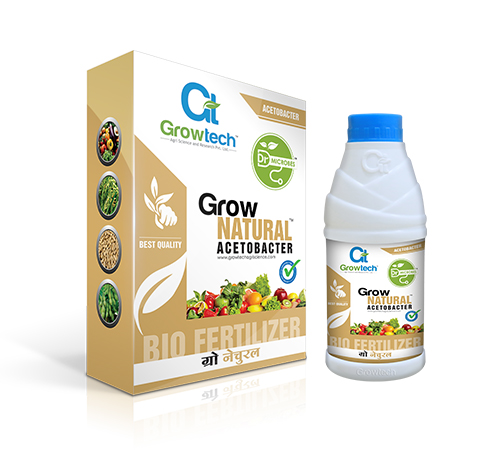 Grow Natural Acetobacter Bio Fertilizer