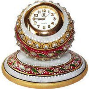 Marble Decorative Desk Clock