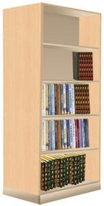 Library Wooden Rack (JWS-136(D))
