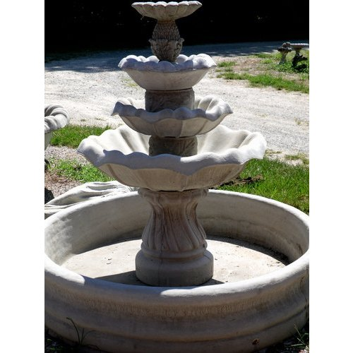 Cement Outdoor Fountain