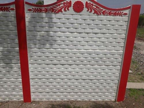 Grey RCC Compound Wall