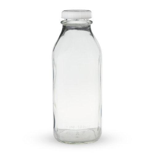 Milk Glass Bottles (750 ml)