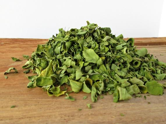 Dried Moringa Leaves