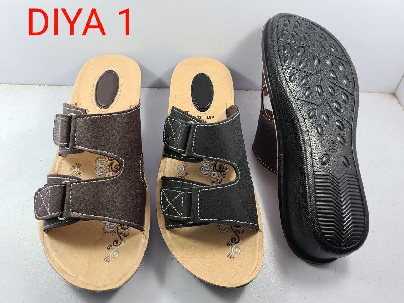 Leather Ladies Slippers