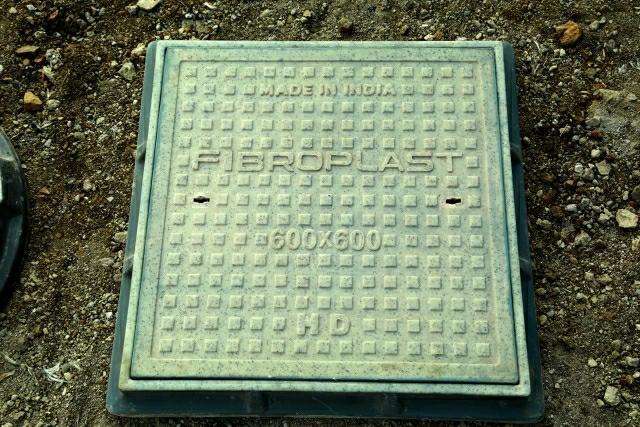 FRP Manhole Cover (39259090)