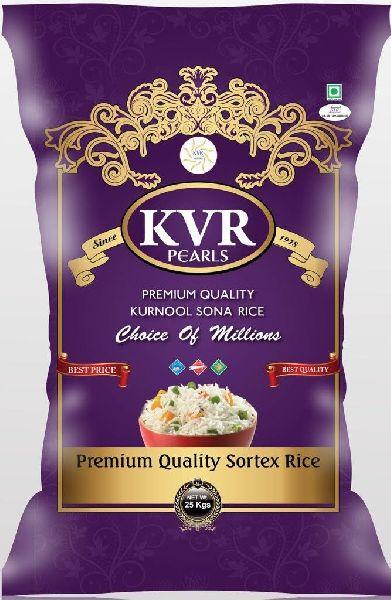 KVR Pearl Raw Rice 25kg