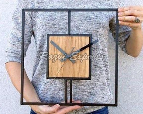 Wooden Wall Clock (RE-017,3)