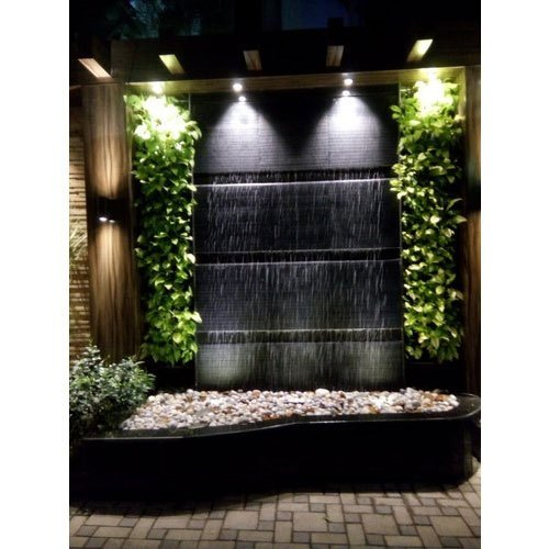 LED Indoor Fountain Waterfall