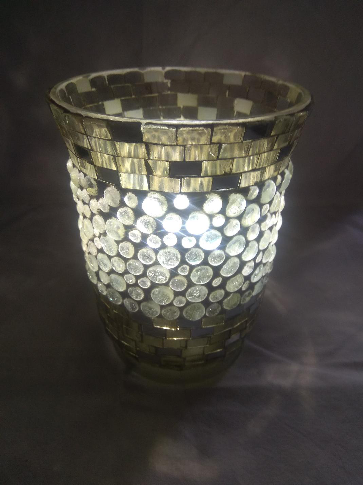 Mosaic Glass Hurricane