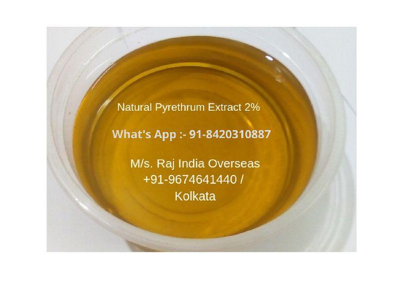 Pyrethrum Extract 2%