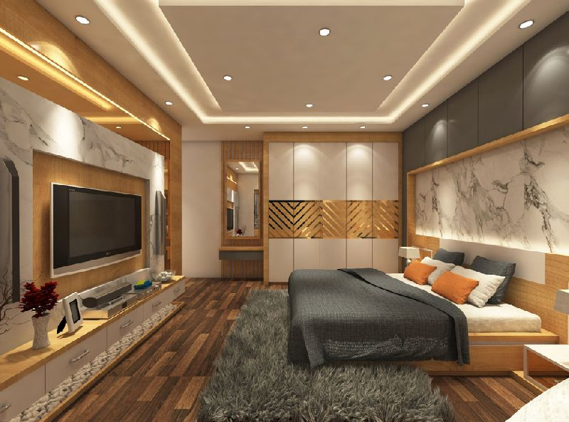 Services Bedroom Interior Designing Service From Bharuch Gujarat India By V C Design Id 5333064