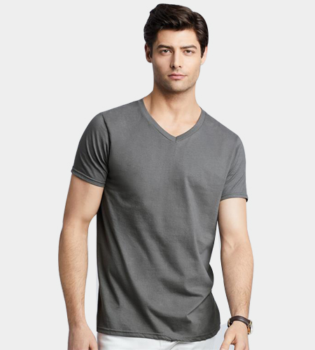 Mens V Neck T Shirt By Gk Enterprises Mens V Neck T Shirt Inr 200inr 300 Piece S Id 5351300