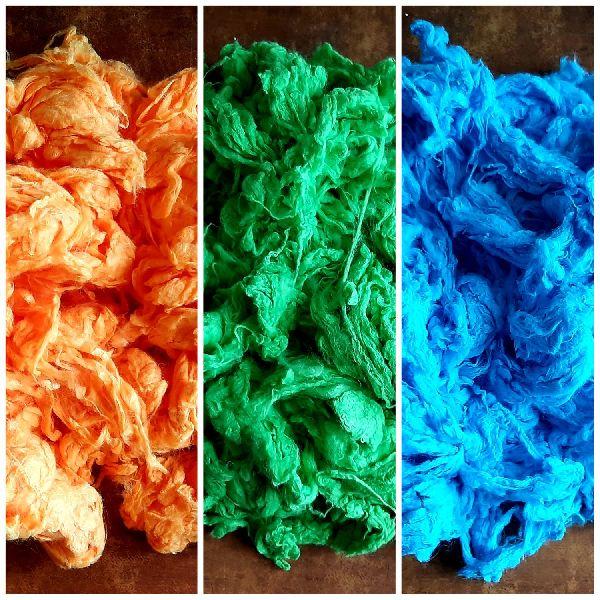 Dyed Viscose Fiber
