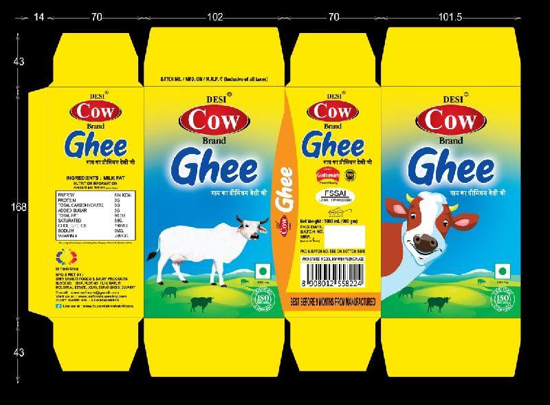 Cow Ghee Tetra Pack (394010394010)