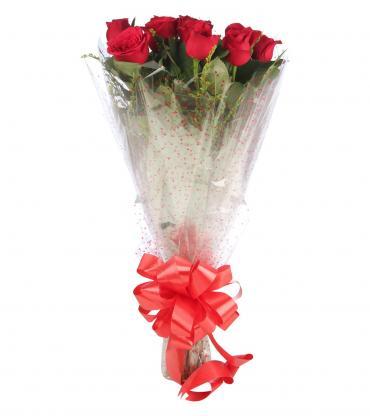 Eternal Love-10 Red Rose