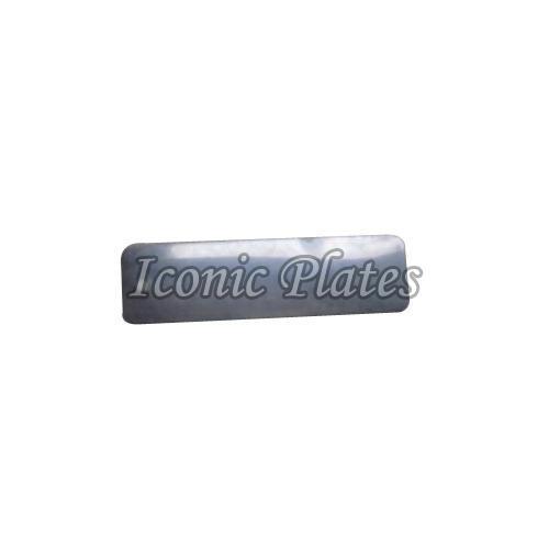 Rectangular Aluminum Labels